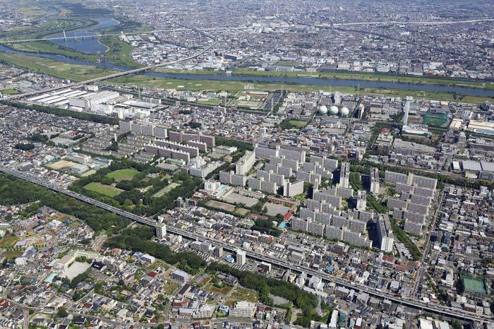 高島平団地平成25年9月の写真